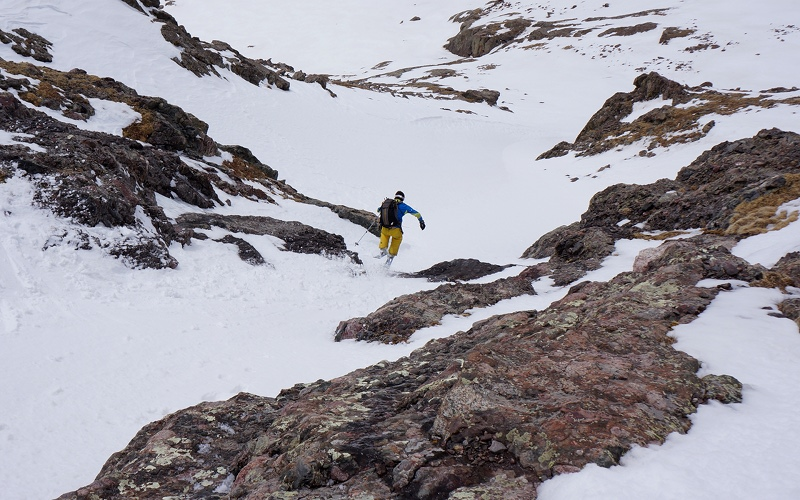It's another exciting picture on Ski Sickness