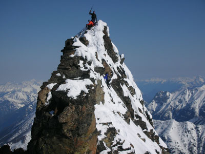 Logan Summit on The Summit of mt Logan