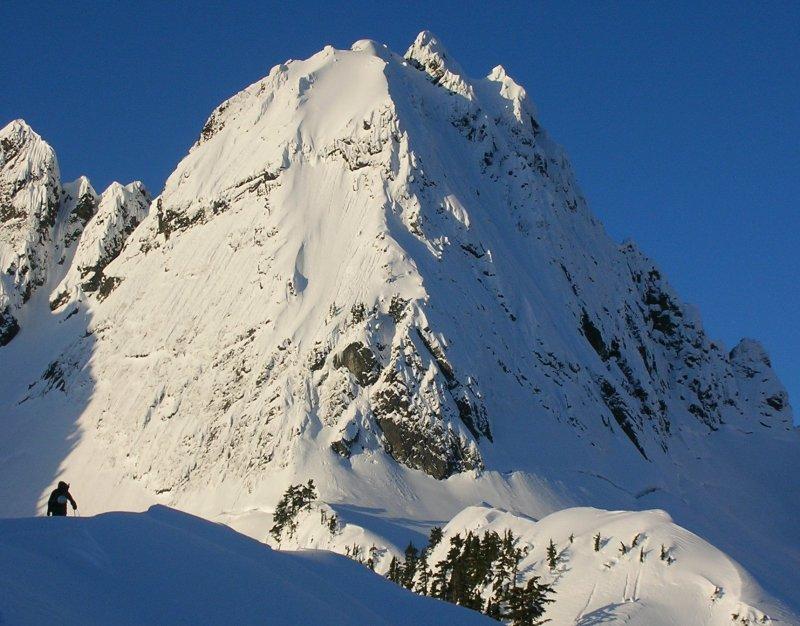 Ski Sickness: Chair Peak North Face Photos