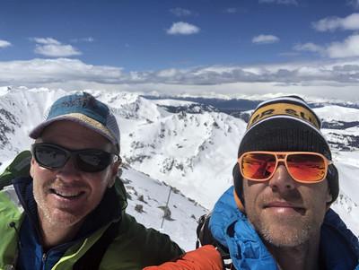 breck, summit-selfie
